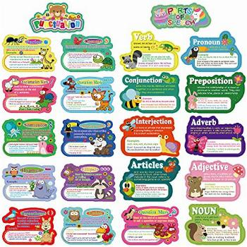 22 Pieces Punctuation Poster Speech Poster Educational
