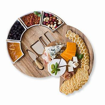 Cheese Board Set - Charcuterie Board Set and Cheese Serving