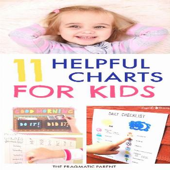 Morning, Evening, Chore, & Routine Charts for Kids. Check out these 11 Awesome Kids Charts for Chor
