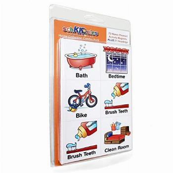 SchKIDules Visual Schedules for Kids 93 Pc Home Collection