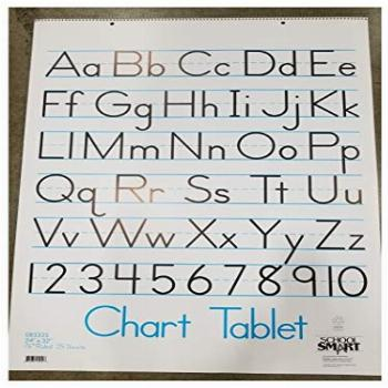 School Smart Chart Tablet, 24 x 32 Inches, 1-1/2 Inch