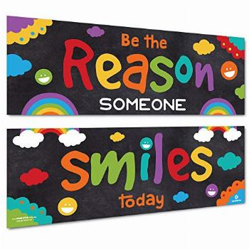 Sproutbrite Classroom Decorations - Banner Posters for
