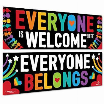 Sproutbrite Classroom Decorations - Welcome Banner and