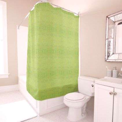 Chartreuse Green Grass Pattern Shower Curtain - photos gifts image diy customize gift idea  Sourc