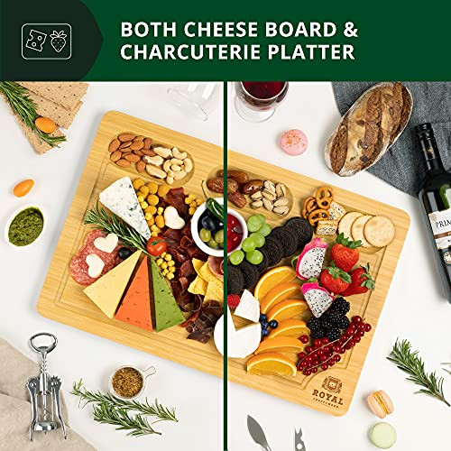 Extra Large Bamboo Cheese Board and Charcuterie