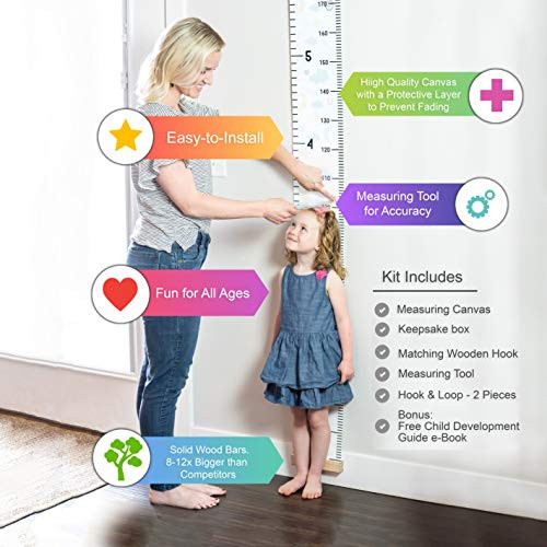 Growth Chart for Kids by Baby Proof - Measuring Height Chart