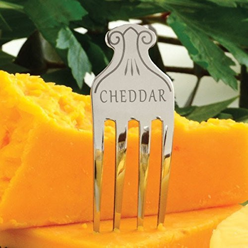 Norpro Stainless Steel Cheese Markers, Set of 6 NOR-334
